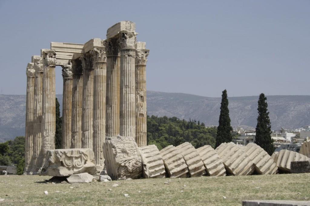 Athen Tempel des Zeus