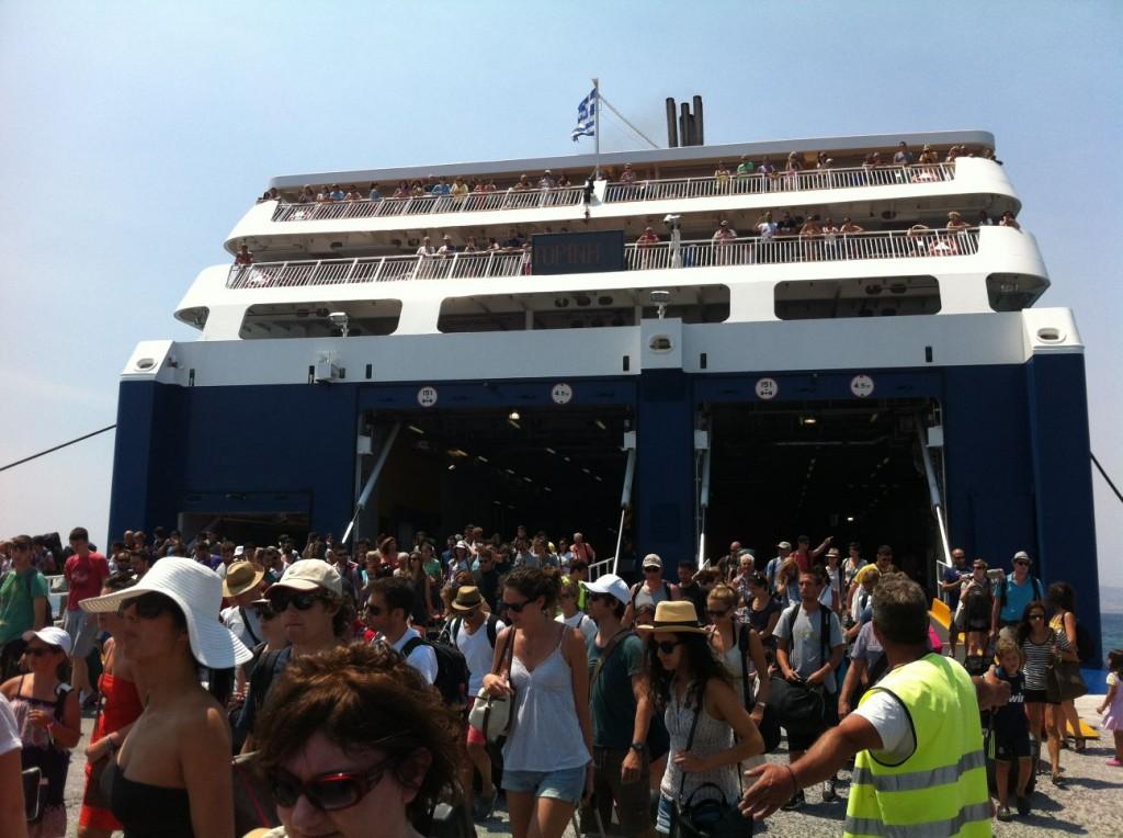 Blue Star Ferry Naxos