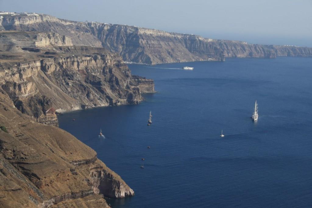 Santorini - Caldera