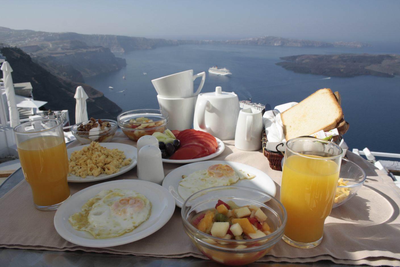 Hotel Vinsantos Villas - Breakfast
