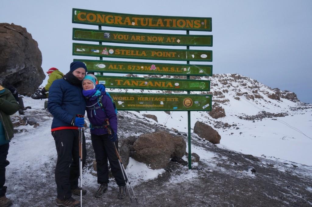 Kilimanjaro Stella Point (5.739 m AMSL)