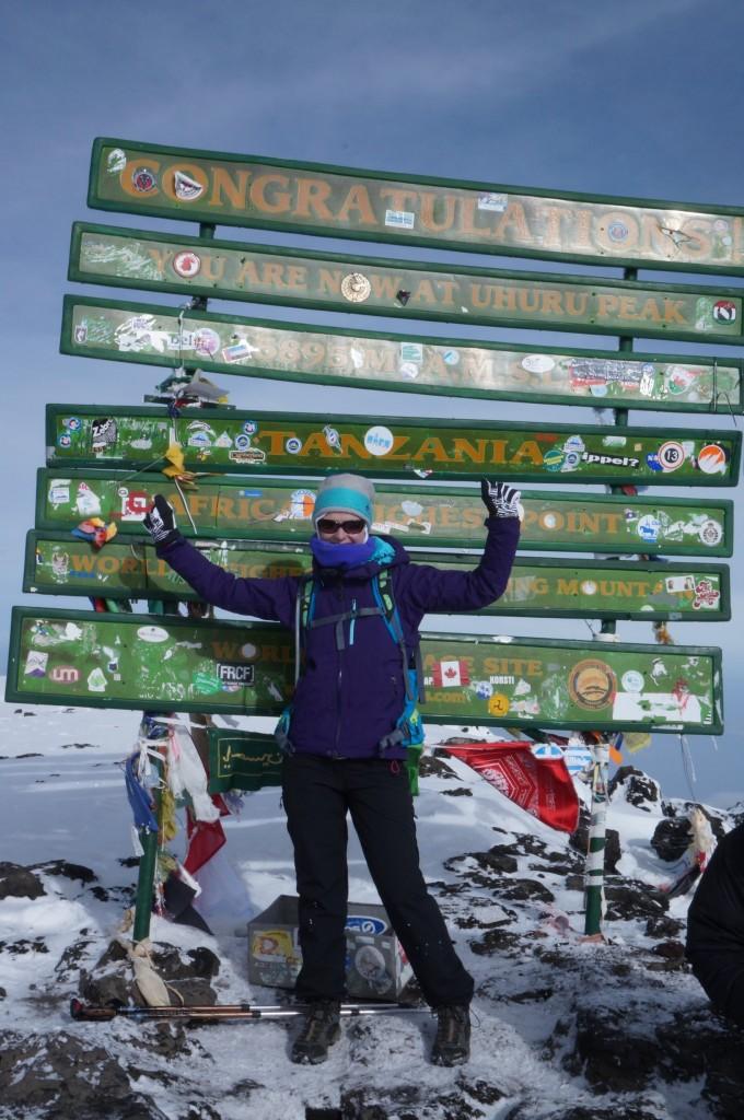 Kilimanjaro Uhuru Peak (5.895 m AMSL)