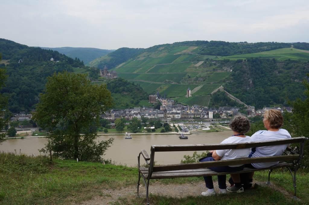 Ausblick Bacharach Rheingau