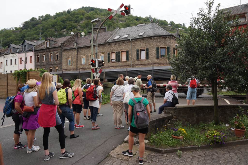 Bahnübergang Lorchhausen