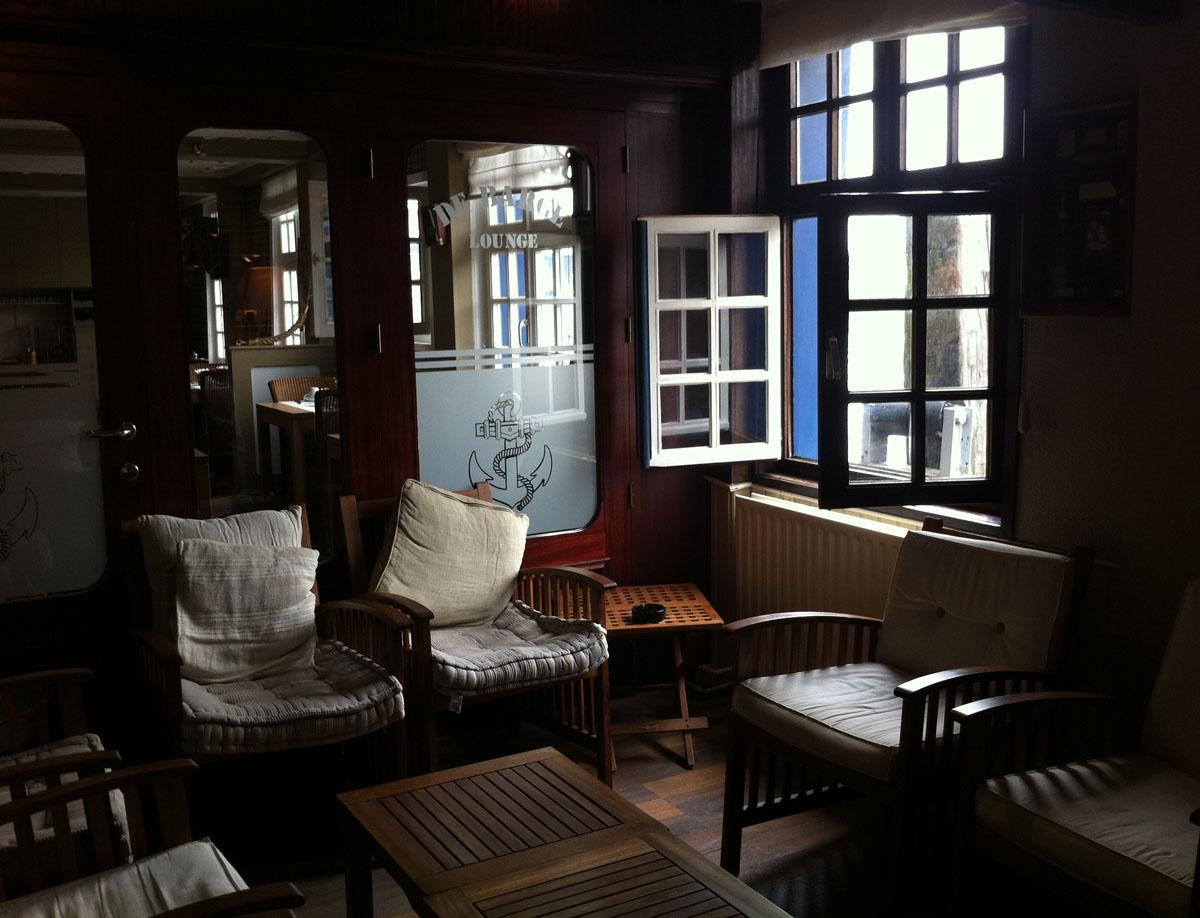 Ungewöhnlich übernachten Boot-Hotel Brügge