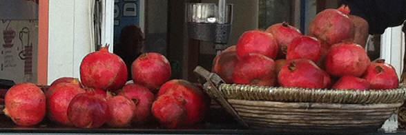 Westanatolien Granatapfel