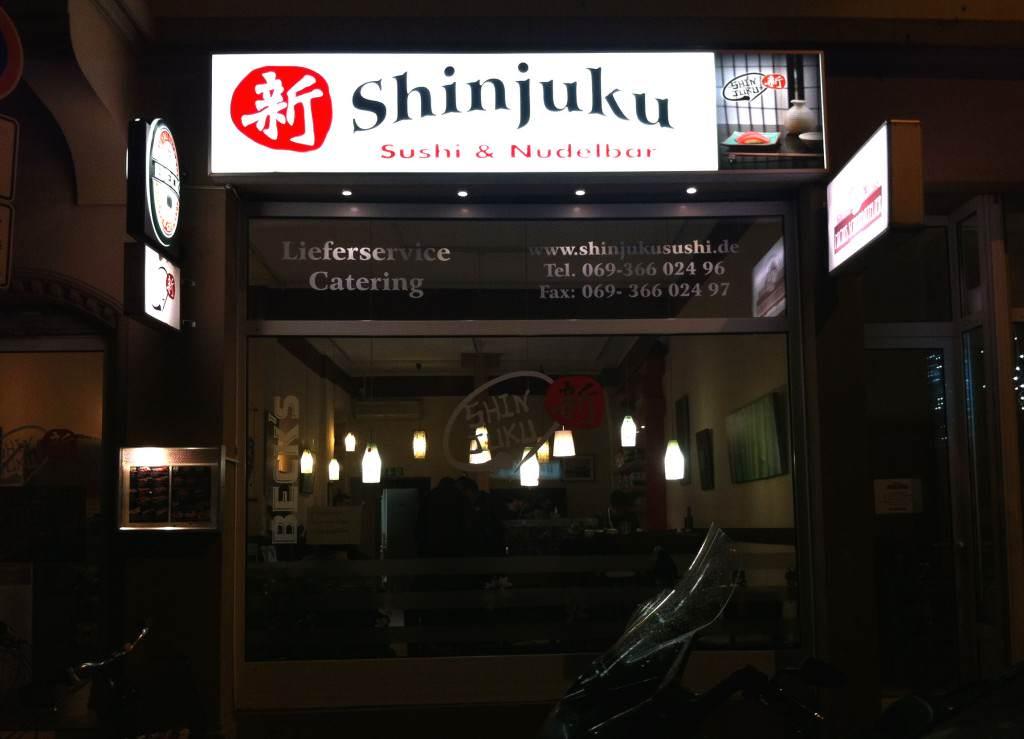 Sushu-Restaurants Frankfurt