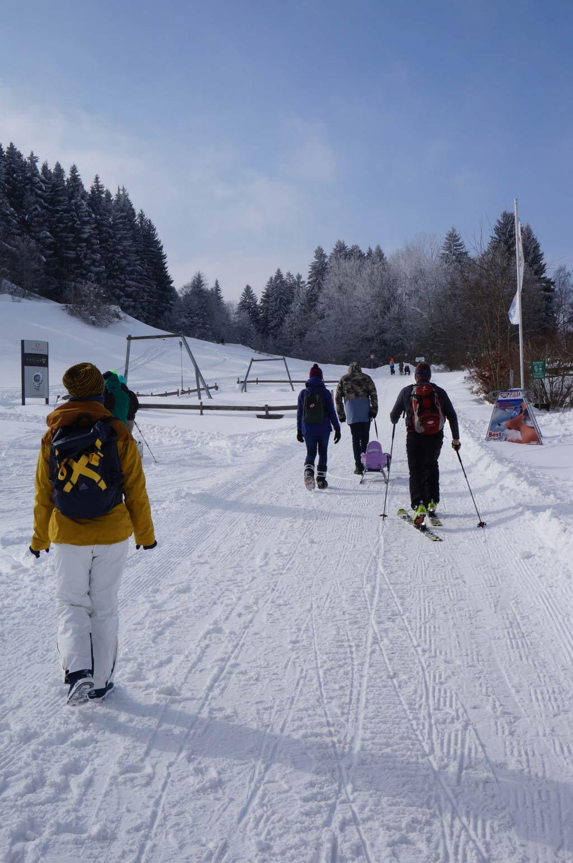 Winterwanderung Allgäu