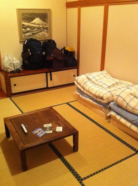 Ungewöhlich übernachten_Japan_Fuji_Futon