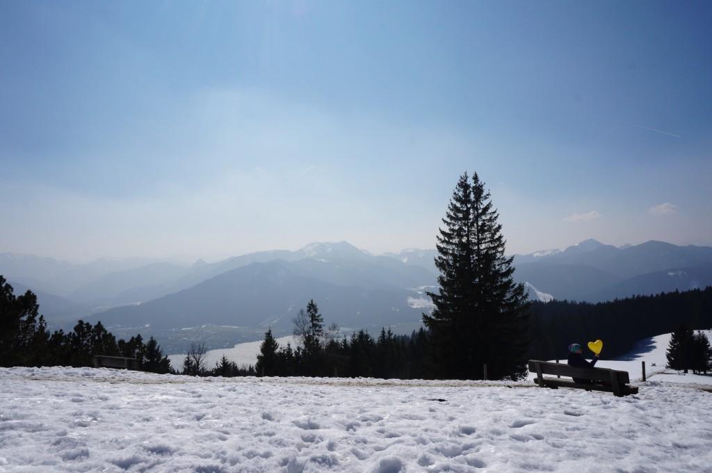 Neureuthalm: Ausblick Tegernsee