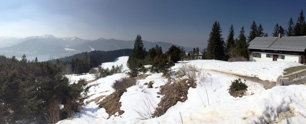 Neureuthalm Blick Tegernsee