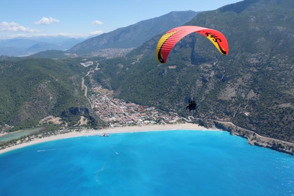 Lykische Küste - Paragliding