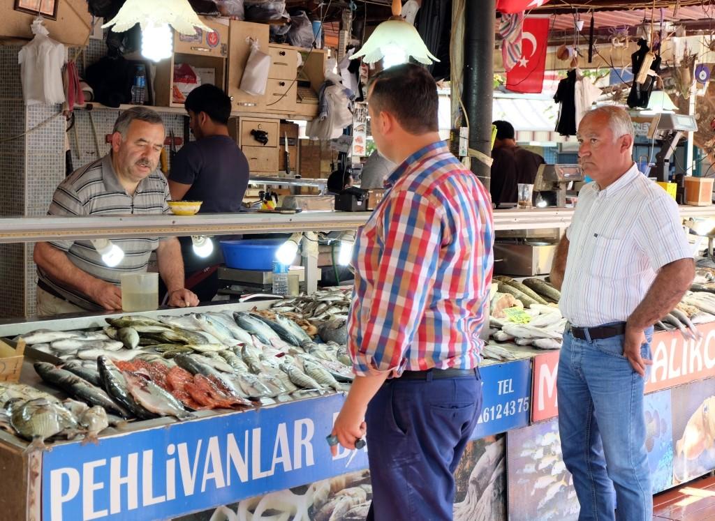 Lykische Küste - Fethiye Fischmarkt