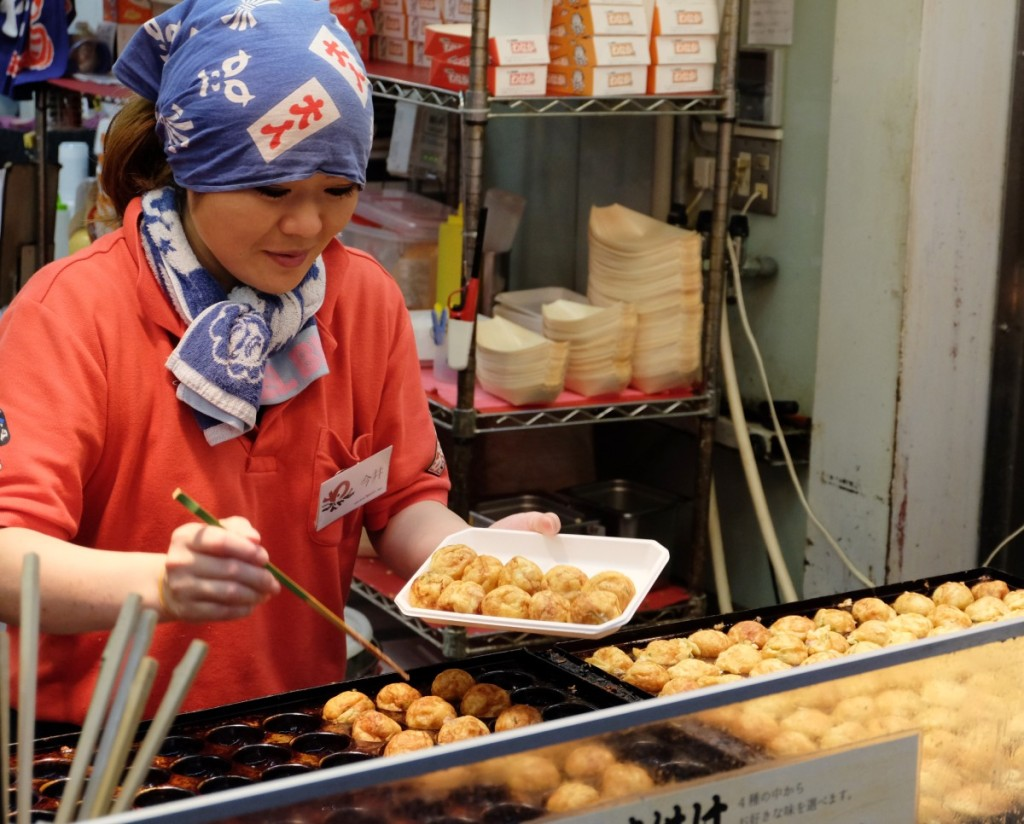 Japanische Küche - Tako Yaki