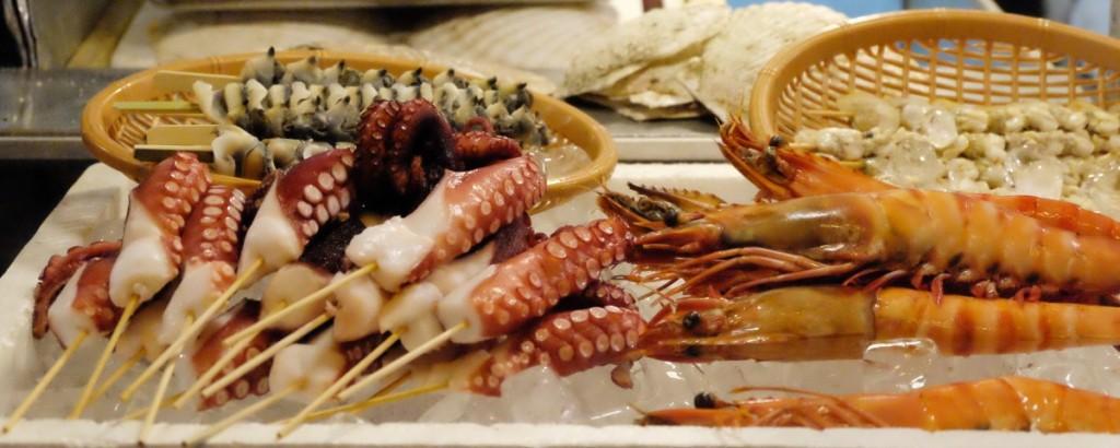 Japanische Küche - Yakitori