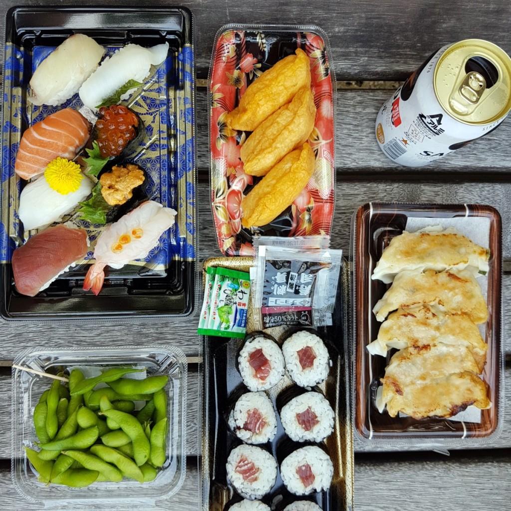 Japanische Küche - Sushi