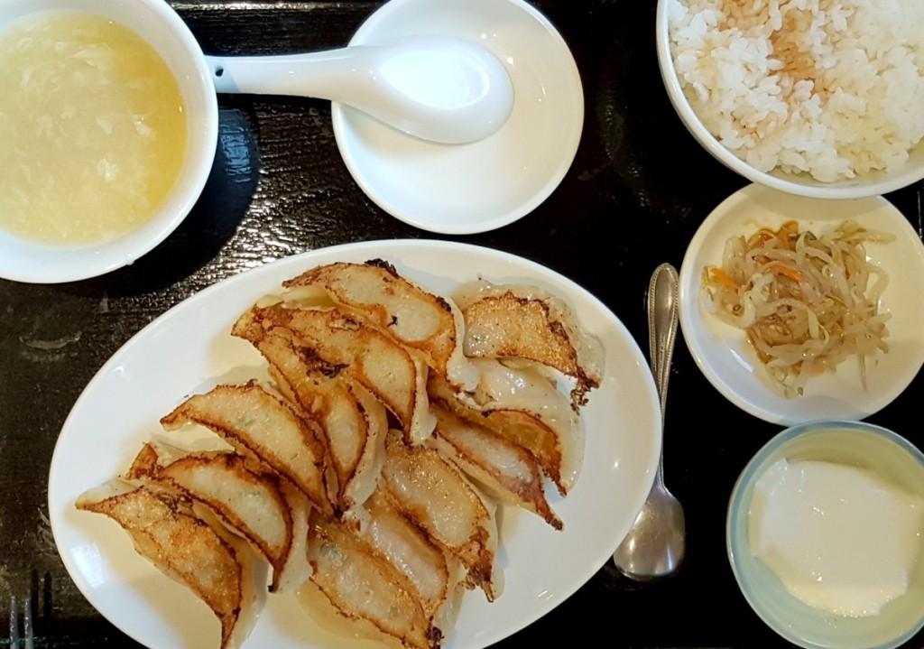 Japanische Küche - Gyoza