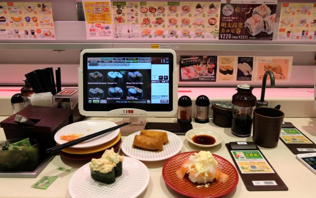 Japanische Küche - Running Sushi