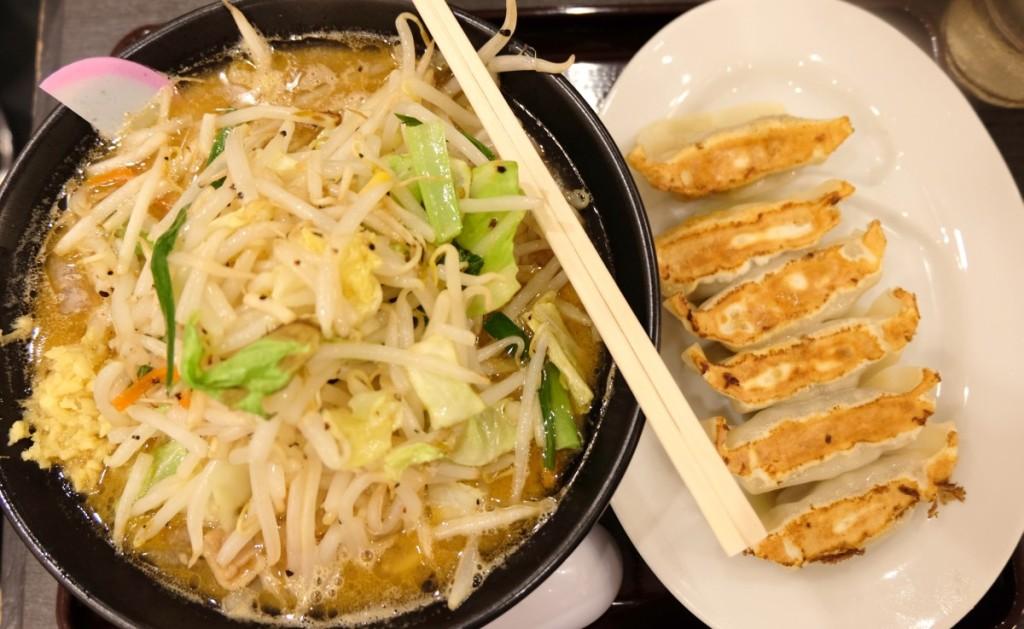 Japanische Küche - Ramen, Gyoza