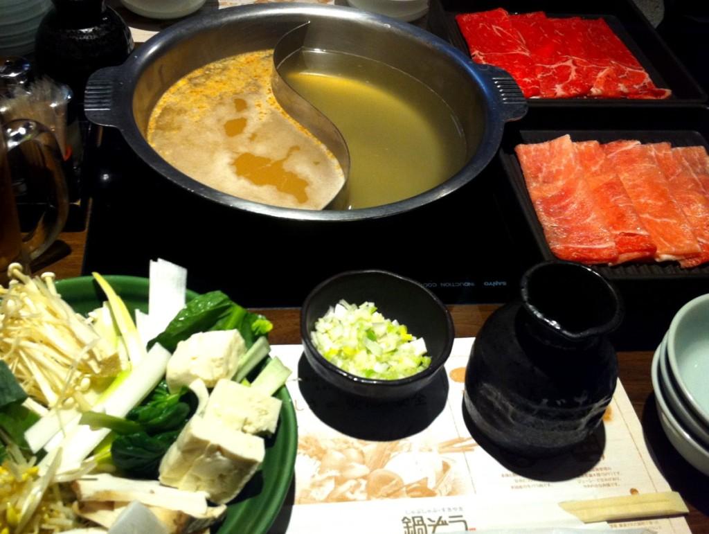 Japanische Küche - Shabu Shabu