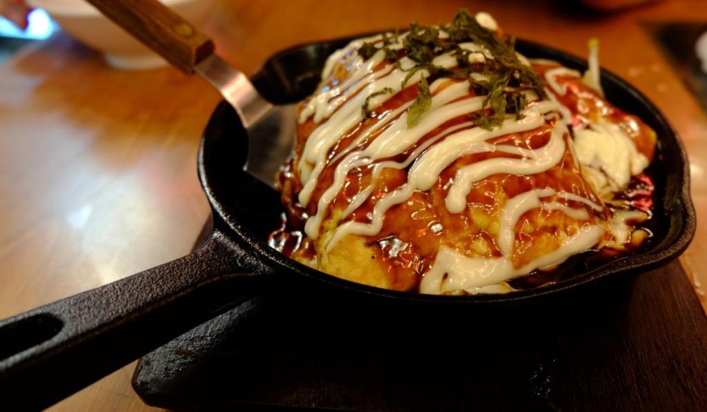 Japanische Küche - Okonomiyaki