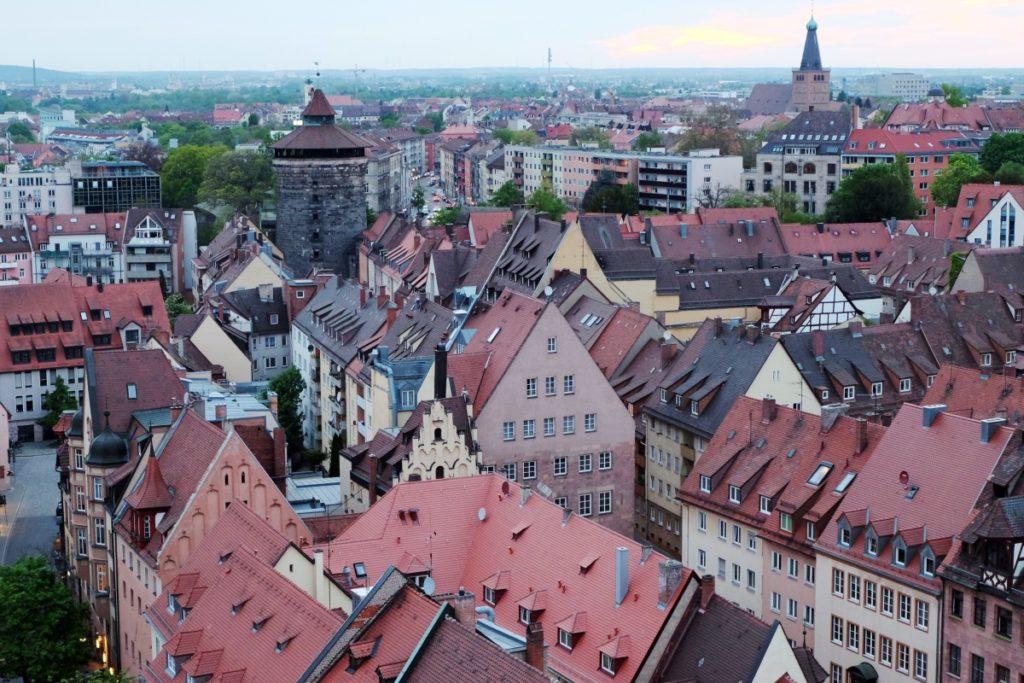 Franken Nürnberg von oben