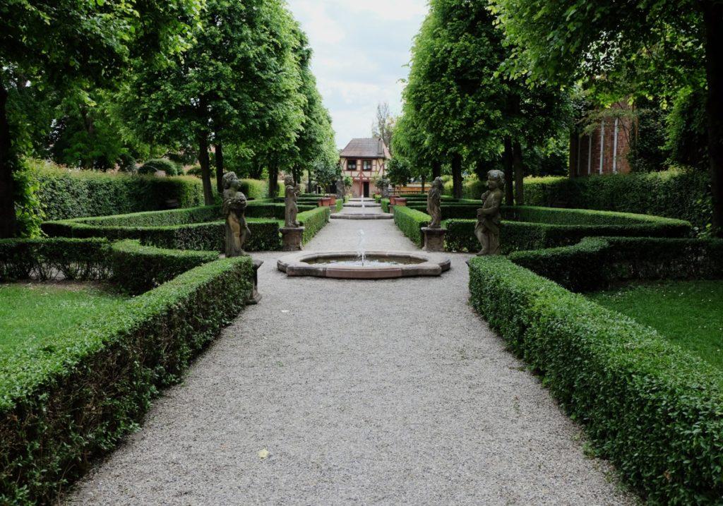 Nürnberg - Barockhäusle Hesperidengärten