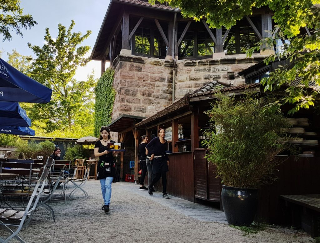 Nürnberg - Kraukauer Turm