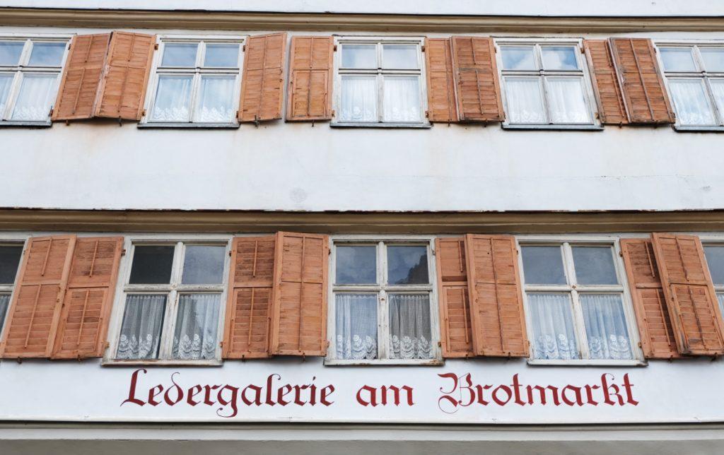 Dinkelsbühl Häuserfassade