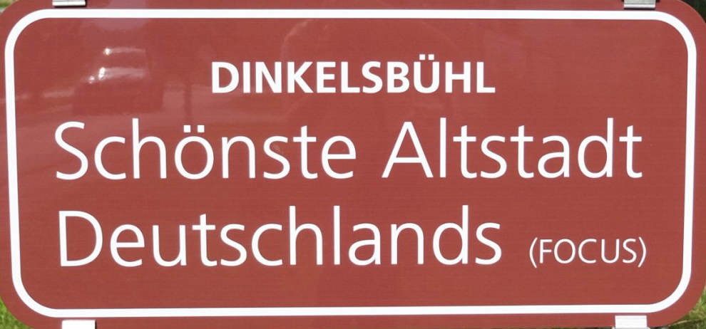 Dinkelsbühl schönste Altstadt Deutschlands