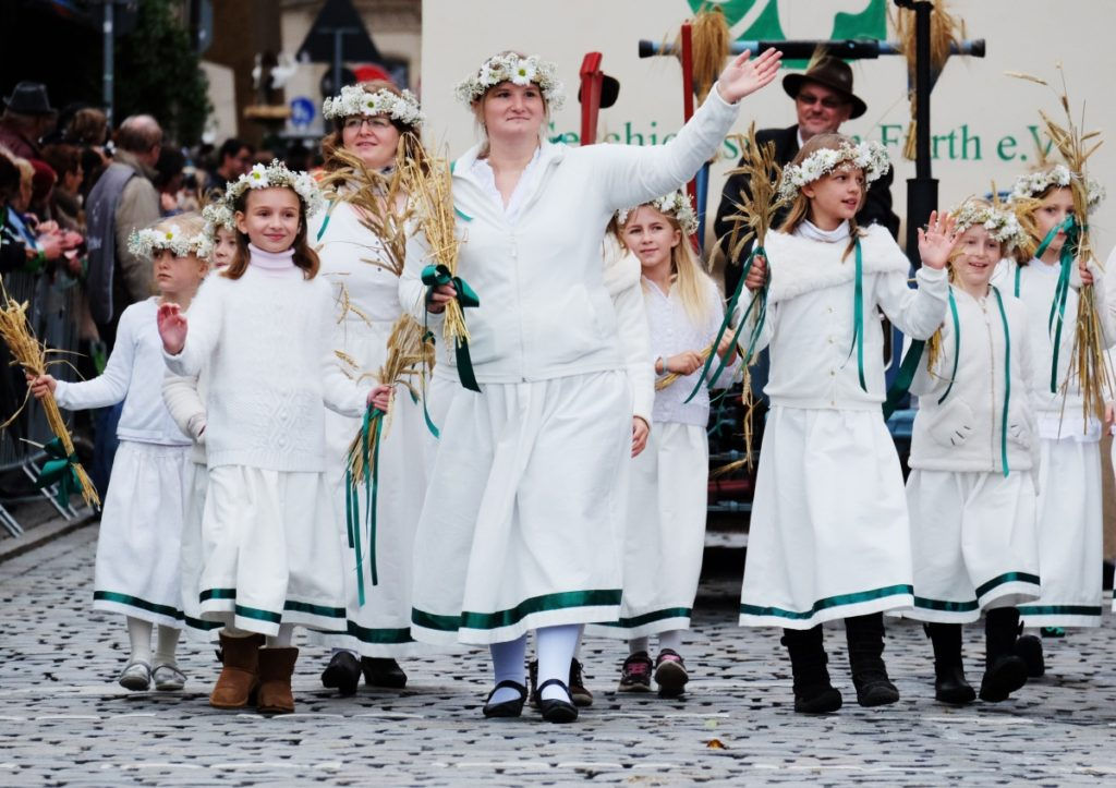 Erntedankfestzug Michaelis-Kirchweih