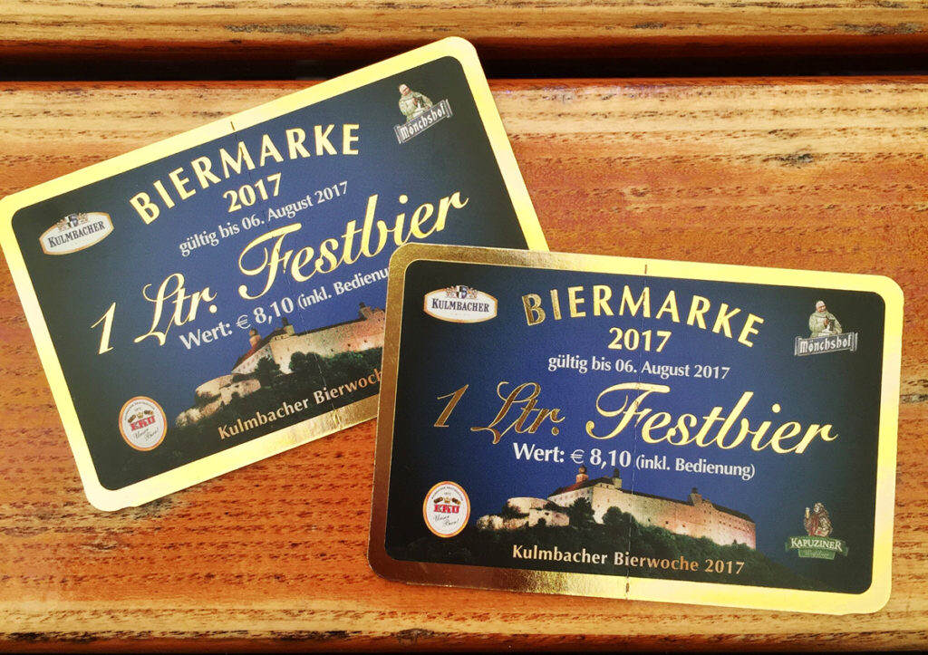 Kulmbacher Bierwoche Biermarke