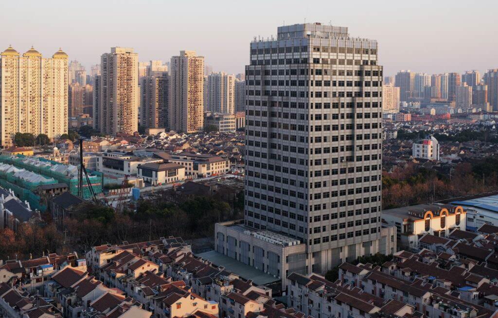 Shanghai view
