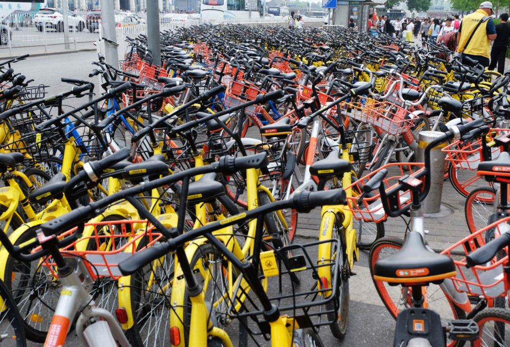 nine million bicycles in beijing
