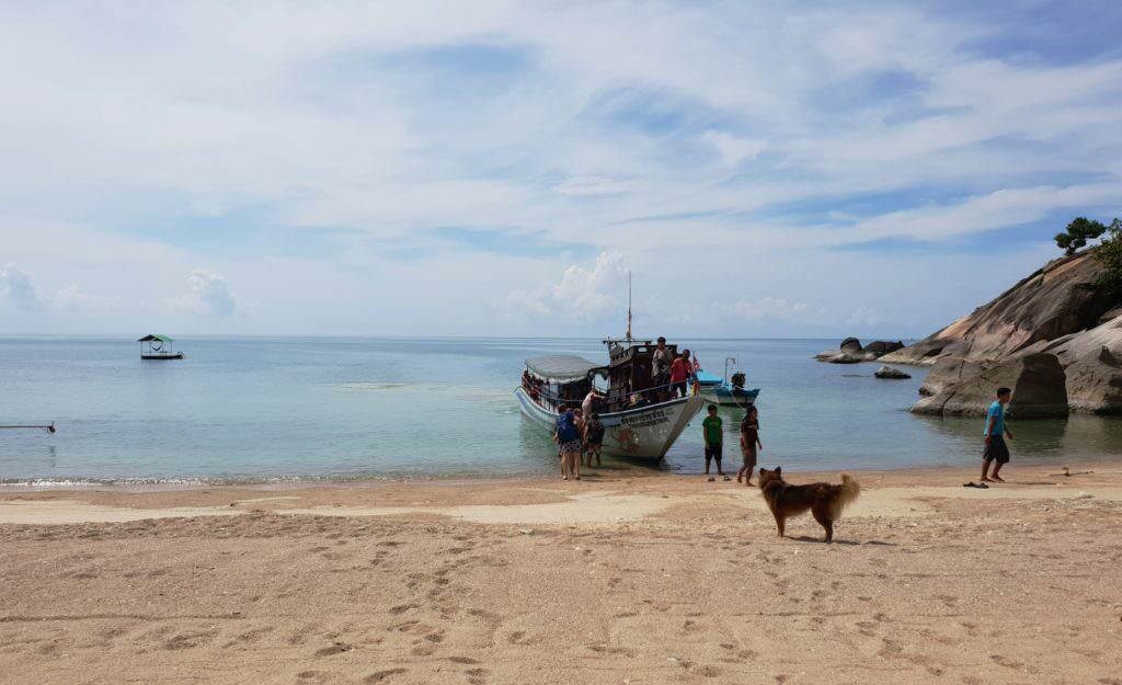 Thong Nai Pang ferry-boat