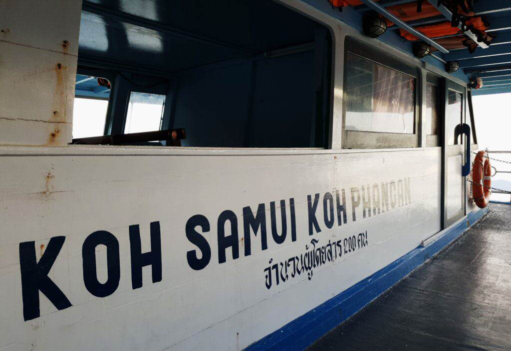 Haad Rin Queen ferry Koh Phangan
