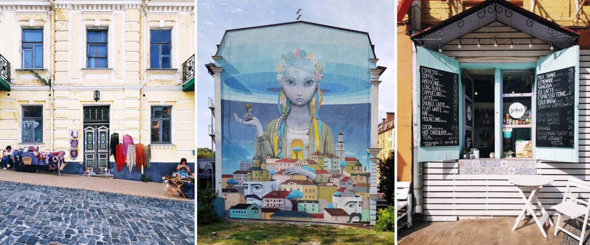 Andriivski Descent Kiew