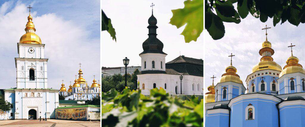 St. Michael´s Golden Domed Cathedral Kiew