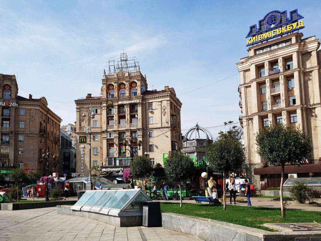 Maidan Nezalezhnsti Kiew