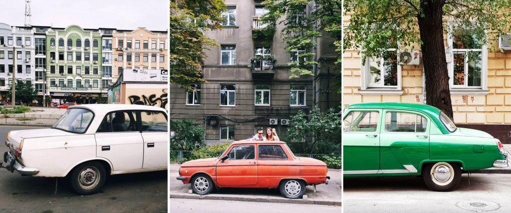 Oldtimer Kiew