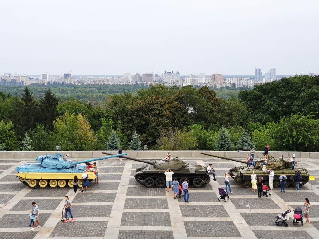 Motherland Memorial Kiew