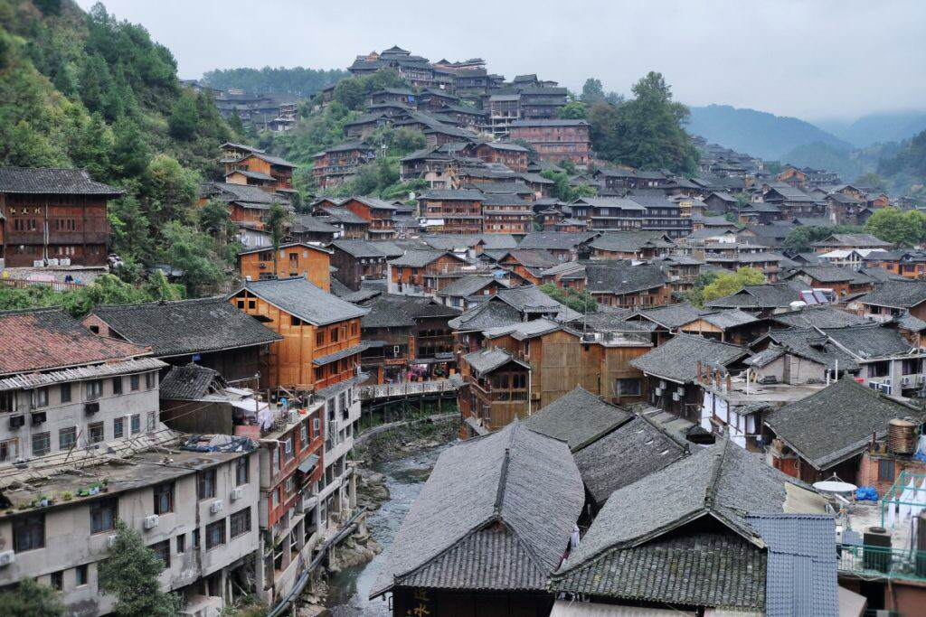 Guizhou Xijiang Miao Village