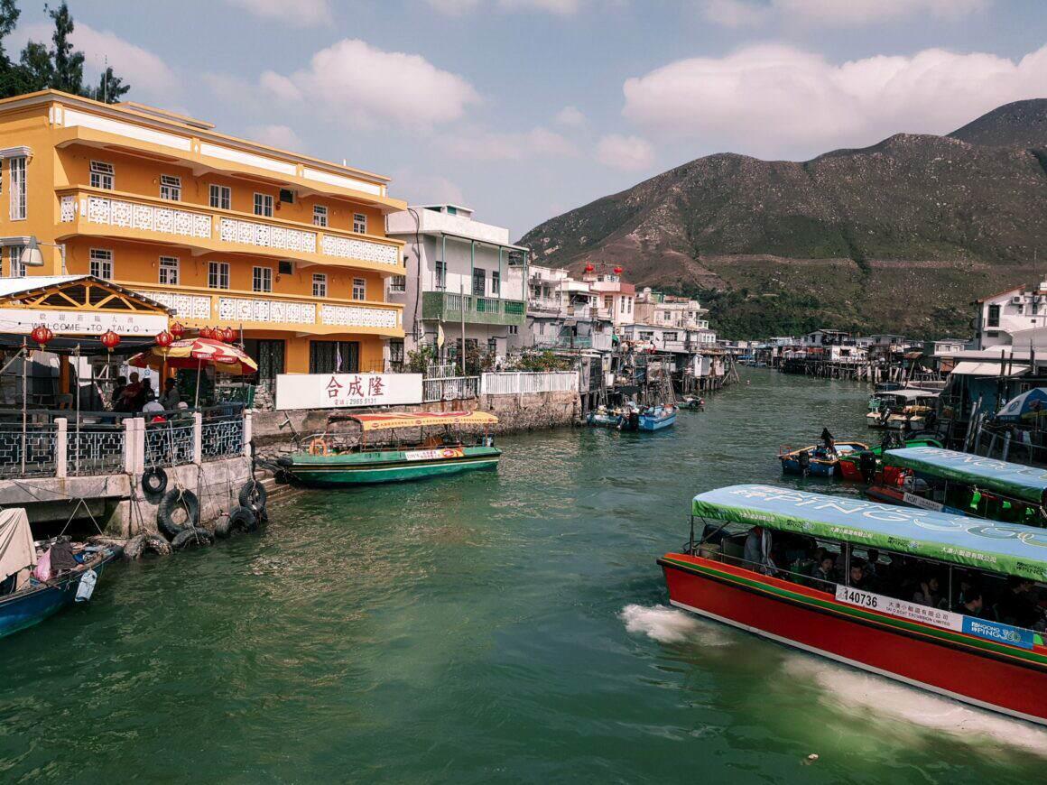 Tai O Lantau Island