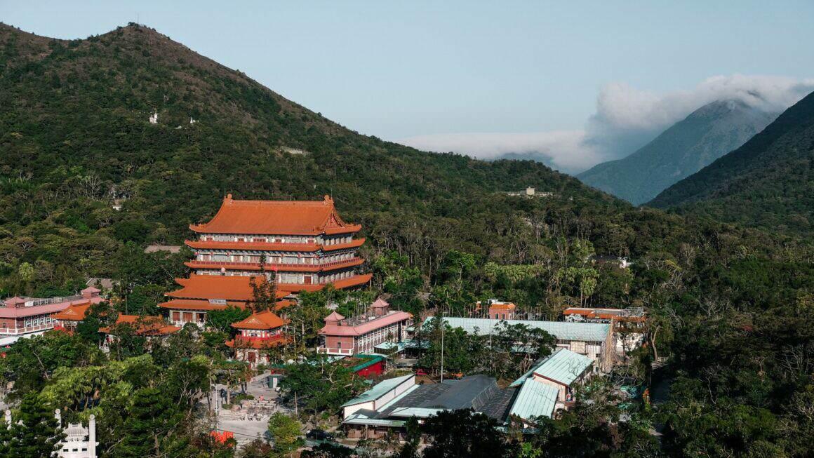 Po Lin Kloster Lantau Island