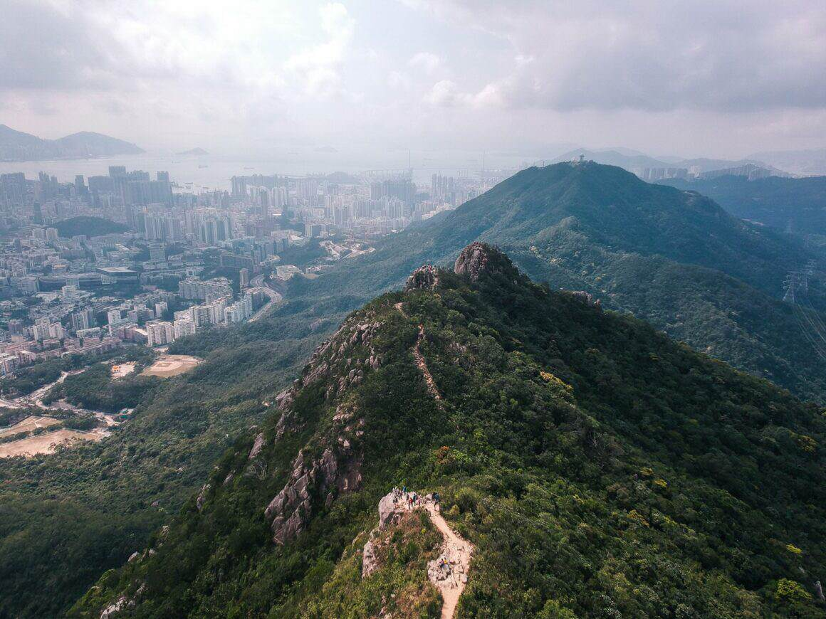 Lion Rock Peak Hong KOng