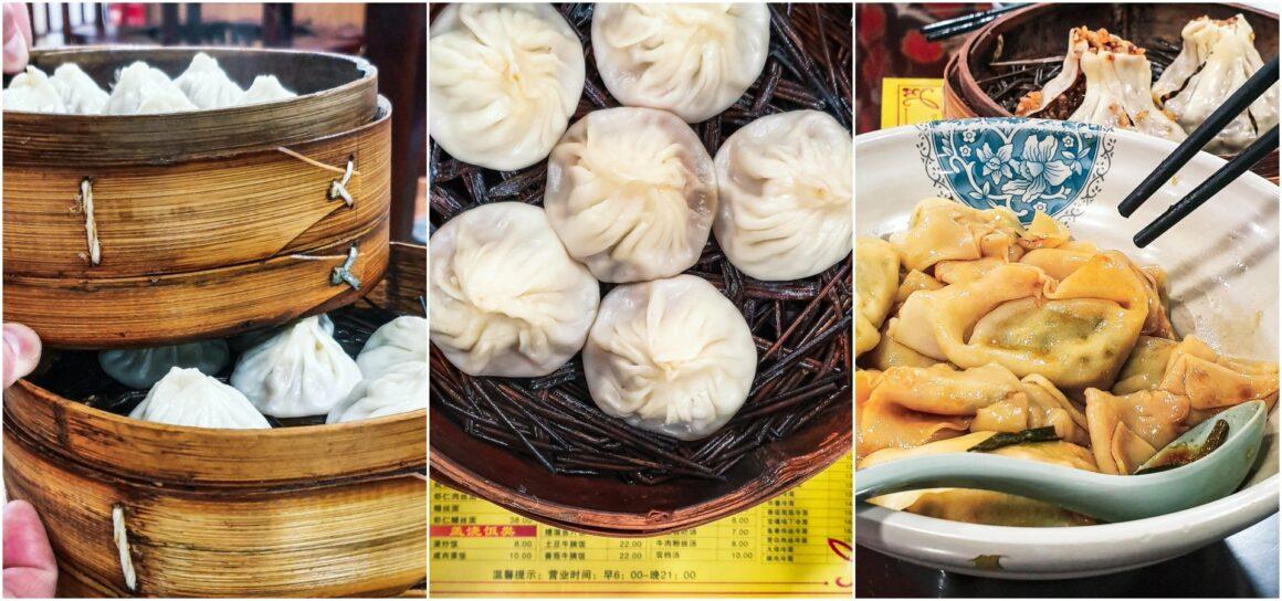 Xiaolongbao Shanghai´s Dumplingspezialität