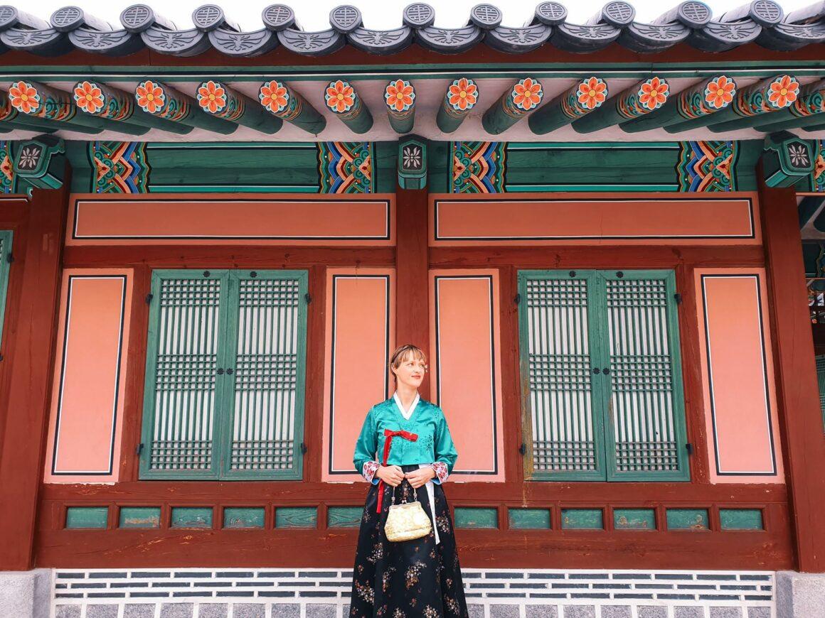 Gyeongbokgung Palast Seoul Hanbok