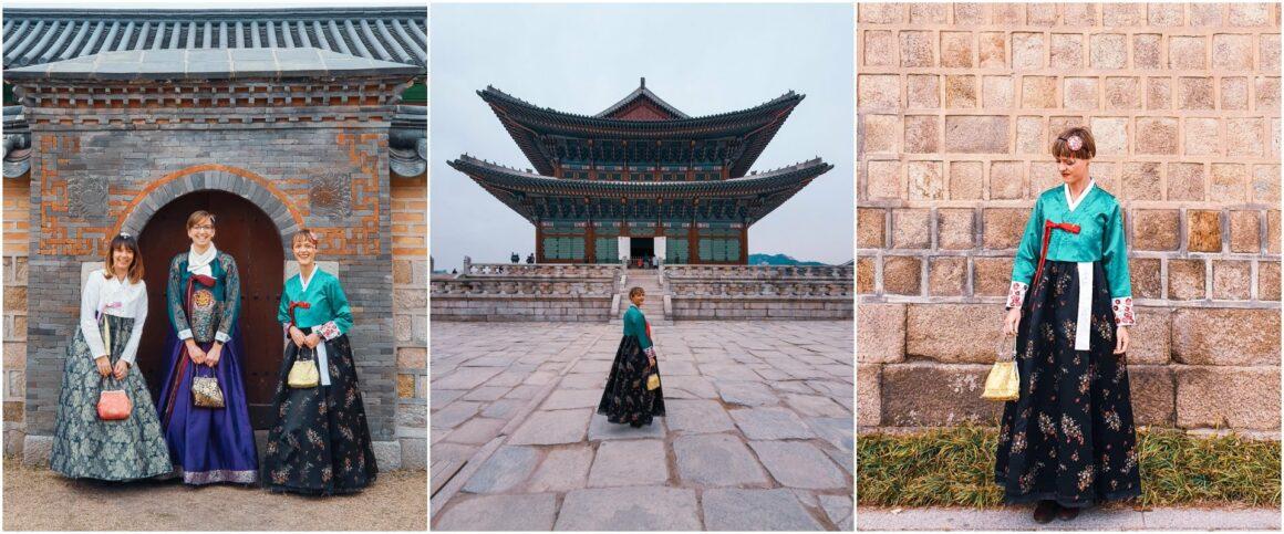 Hanbok Südkoreanische Tracht