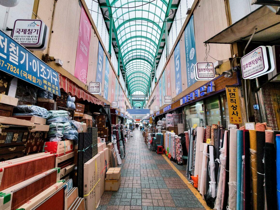 Nampodong & Gukje Markt Busan
