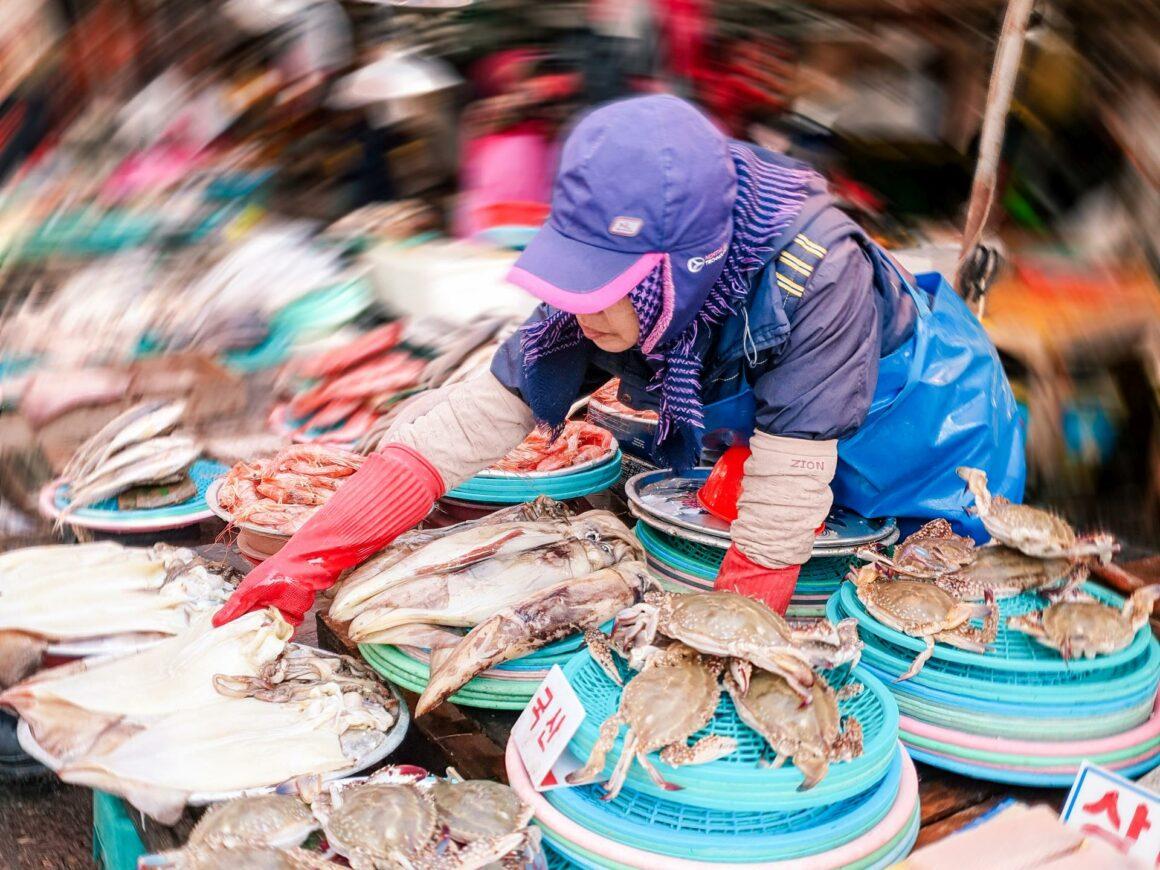 Jagalchi Fischmarkt Busan